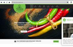 Victoria - Creative Responsive Web Template