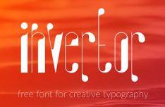 Invertor Font