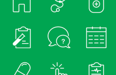 9 Medical Line Icons