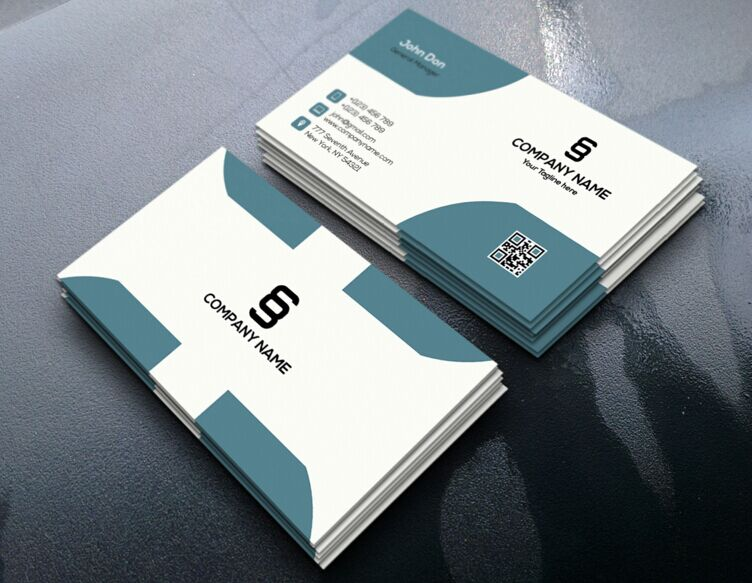 Free Realistic Corporate Business Card Design PSD TitanUI