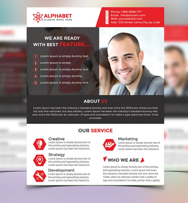 Free fully editable corporate business flyer psd template titanui fully editable corporate business flyer psd template cheaphphosting Image collections