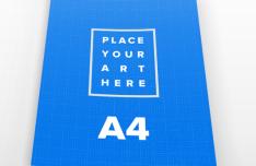 2 Clean A4 Paper PSD Mockups