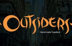 Outsiders Typeface