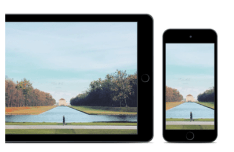 Minimal iPhone and iPad Vector Template