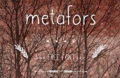 metafors Handdrawn Font