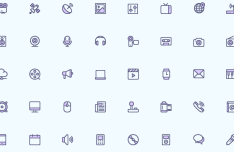 40 Media Icons (PNG, SVG, Vector)