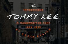 Tommy Lee HandWritten Font