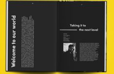 Photorealistic Magazine PSD Mockup