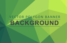7 Polygon Backgrounds PSD