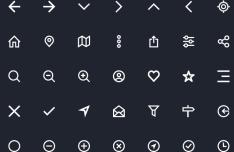 35 Minimal Web Line Icons Vector