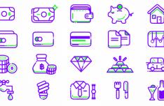 20 Finance Icons SVG