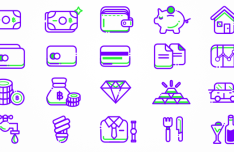 20 Finance Icons SVG