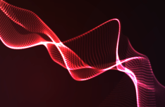 3D Abstract Lines Vector Background #6
