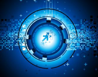 Blue Planet Concept Background Vector 04