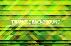 Gradient Triangle Vector Background 03