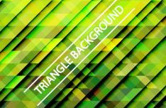 Gradient Triangle Vector Background 07