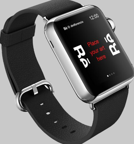 Realistic Apple Watch PSD Mockups