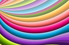 Colorful Spiral Vector Background #3
