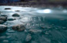 Indent Typeface