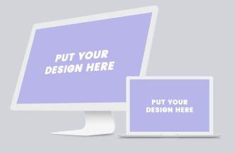 minimal-macbook-and-imac-on-deskp-psd-mockup