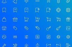 40-e-commerce-line-icons-vector