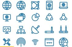 20-Internet-Icons-Vector