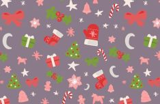 seamless-christmas-vector-pattern