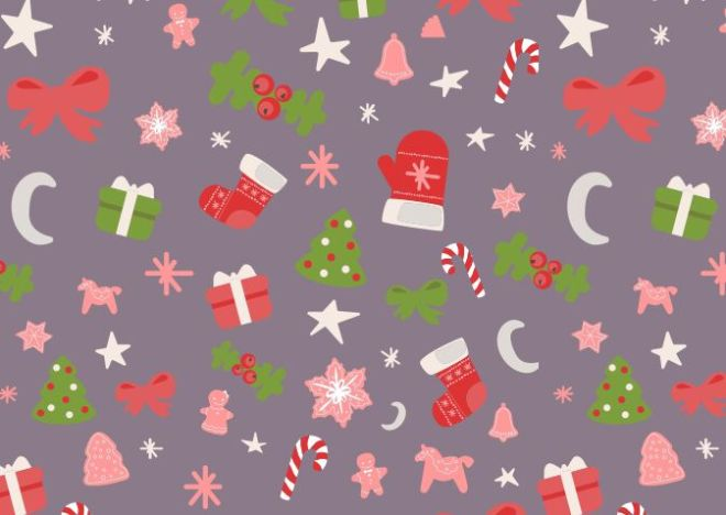 seamless-christmas-vector-pattern