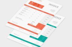 company-invoice-psd-template