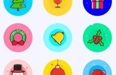 9-christmas-vector-icons