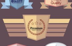 creative-flat-quality-labels-vector