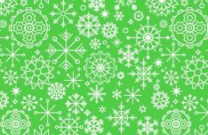 seamless-snowflake-vector-pattern
