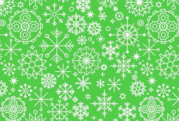 seamless-snowflake-vector-pattern
