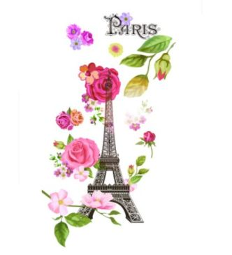 spring-paris-vector-illustration