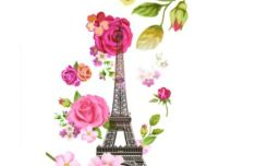 spring-paris-vector-illustration