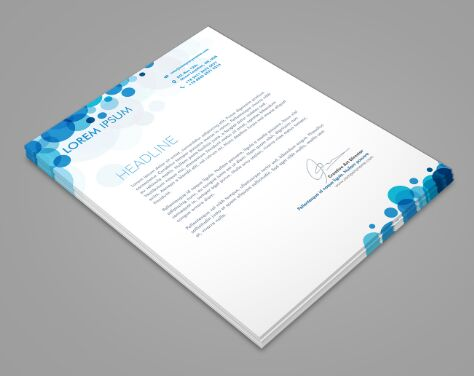 Download Free Simple Clean A4 Paper PSD Mockup - TitanUI