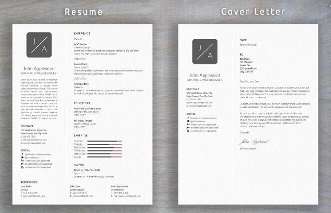 Mock up cover letter