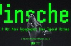 SH Pinscher Font