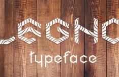 Legno Geometric Typeface