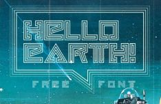 HELLO EARTH Font