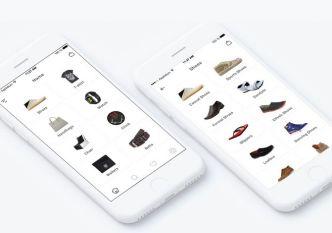 Minimal Mobile E-commerce UI Kit PSD