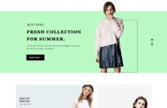 Spedo - Fashion Web Template PSD