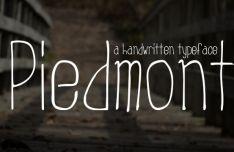 Piedmont Handwritten Tyepface