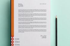 Customizable Photorealistic Letterhead Template
