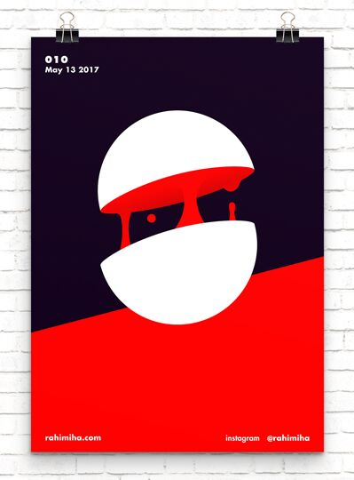 Minimal Wall Poster Vector Template
