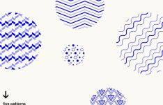 5 Minimal Geometric Vector Patterns