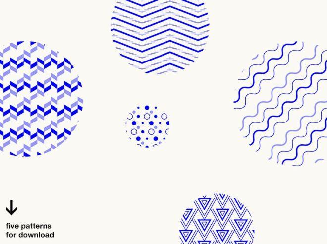5 Minimal Geometric Vector Patterns
