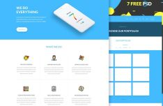 Anduous Moden Web Template PSD