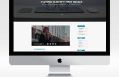 4 iMac PSD Templates