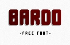 BARDO Display Font